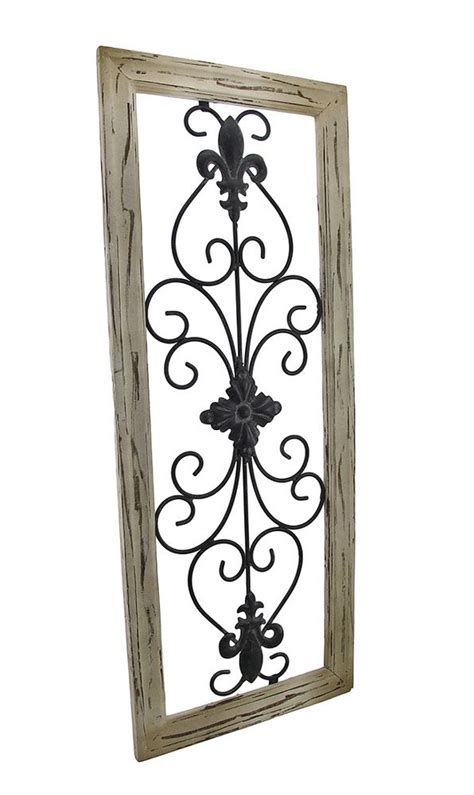 rod iron decorations wall elk rod iron wall decor frame wrought iron fleur