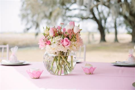 Pink Baby Shower Centerpieces by Pretty In Pink A Southern Baby Shower Gigi Noelle Events