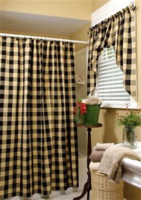 tan and black curtains country shower curtain beautiful shabby chic country