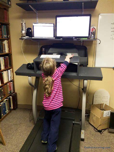 walking desk diy treadmill desk is learning