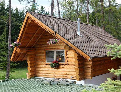 Small Log Home Kits Canada Banff Log Cabin Guesthouse