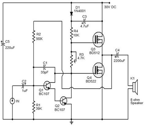 transistor mosfet j50 mos fet audio lifier mos wiring diagram and circuit schematic