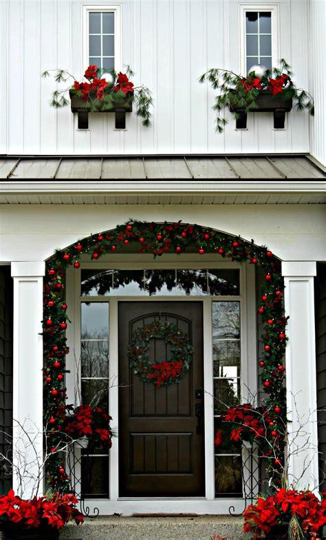 christmas front door front door christmas decorations