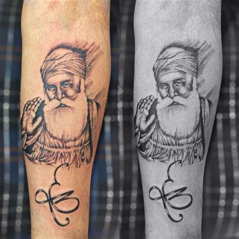 sikh tattoo guru gobind singh tattoo by pranay shah