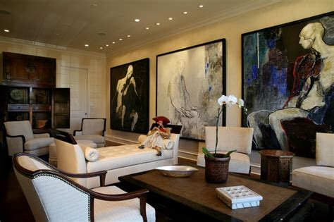 Home Decorators Collectors modern art collector s living room transitional living