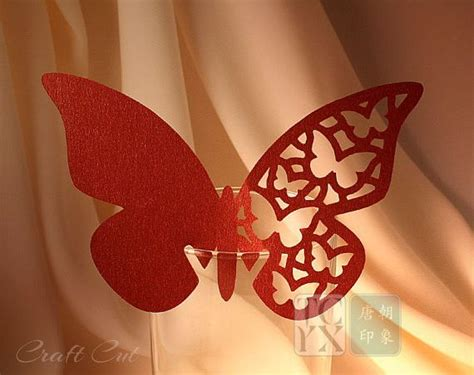 butterfly wine glass place card template 40 best images about migration is on local