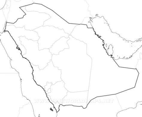 Saudi Map Outline by Saudi Arabia Map Coloring Page Coloring Pages