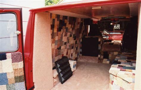 van upholstery van interior