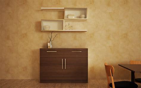 Living Room Crockery Unit Buy Pelican Essential Crockery Unit Homelane India
