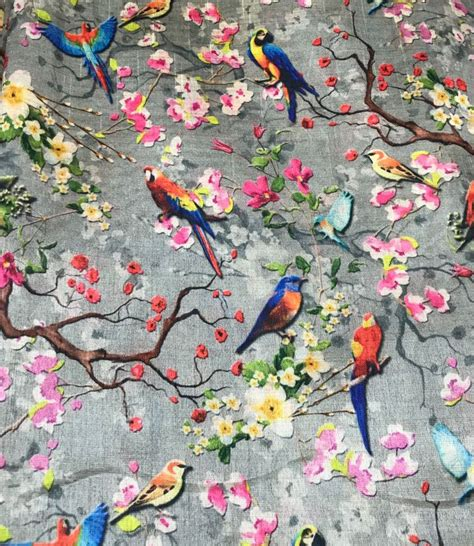 pin  janice baird  birds chinoiserie wallpaper