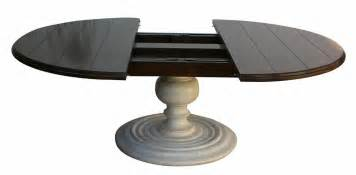 Table Pedestals Black Glass Top Rounded Form Coffee Table With Pedestal