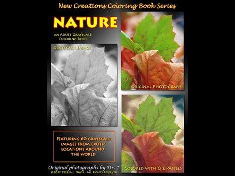 new creations coloring book series santa books new creations coloring book series nature by dr teresa
