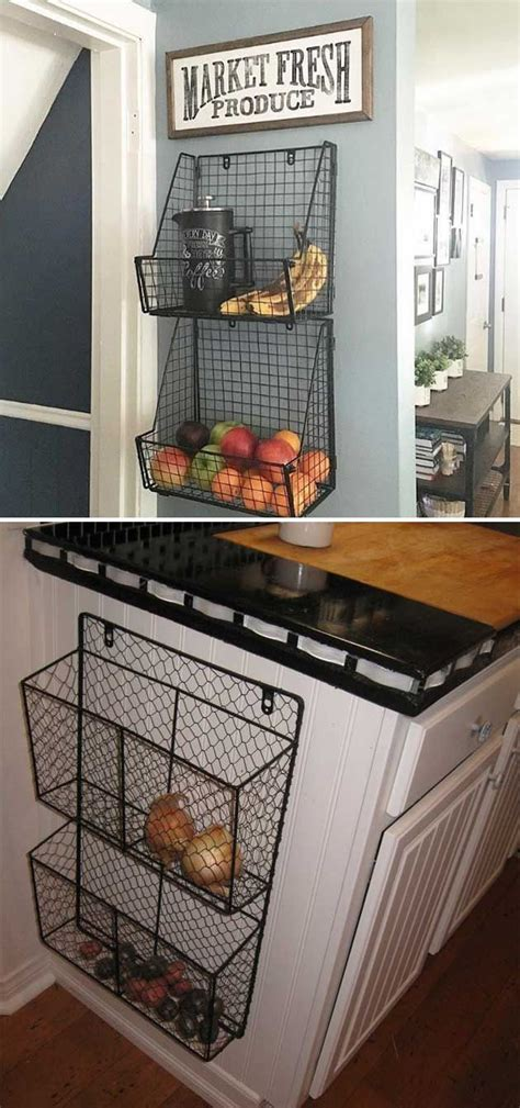 how to attach cabinets to wall 8 attach wire baskets to the side of kitchen wall or