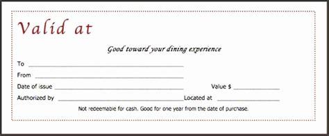 9 Food Voucher Template Sletemplatess Sletemplatess Meal Gift Certificate Template