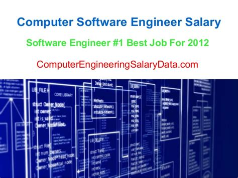 Software Engineer Mba Salary by Computer Software Engineer Salary