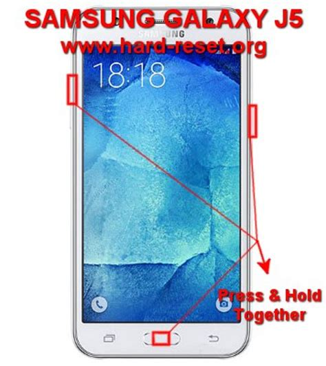format factory reset how to easily master format samsung galaxy j5 sm j500f