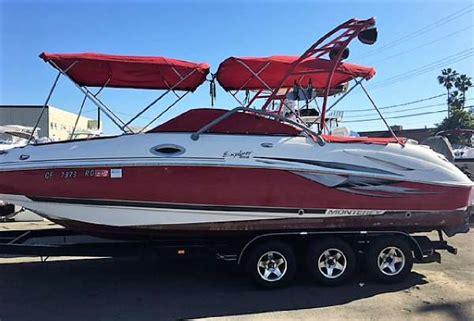 monterey explorer boats for sale monterey 263 explorer boats for sale in anaheim california