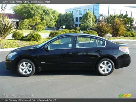 nissan altima black 2007 2007 nissan altima hybrid in black photo no