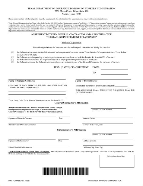 contractor template contract 8 free contract forms timeline template