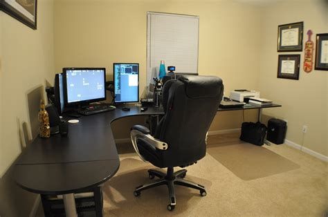 home office gaming setup workstation setups