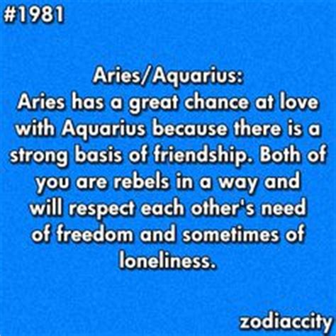 aries and aquarius quotes quotesgram