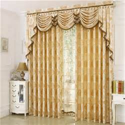 Where To Buy Bedroom Curtains Aliexpress Buy Jacquard Blinds Fashion Luxury