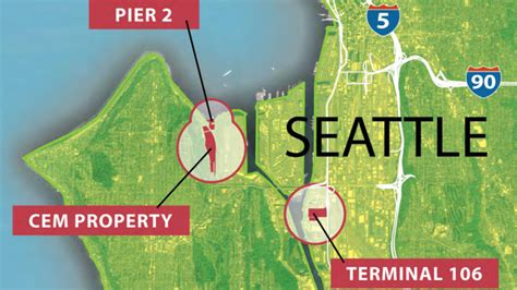 seattle harbor map port of seattle explores possible solar farm in south