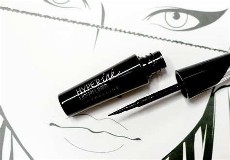 Maybelline Hyper Ink maybelline hyper ink liquid liner review fierceitup