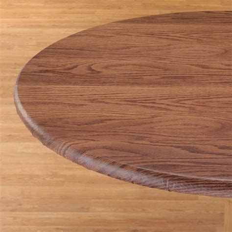 elastic table cover woodgrain elastic table cover ebay