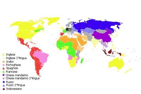 le lingue e il qual 232 la lingua pi 249 diffusa al mondo