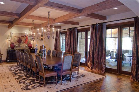 hill country dining room texas hill country style traditional dining room