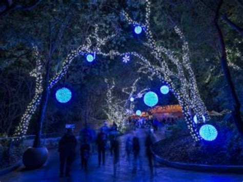 where to see christmas lights in los angeles town square