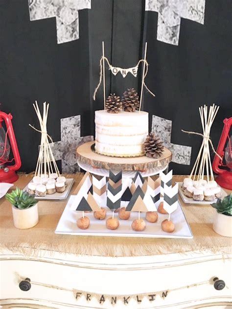 karas party ideas rustic camping  birthday party karas party ideas