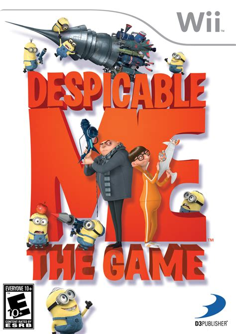 psp themes minions despicable me the game wii ign