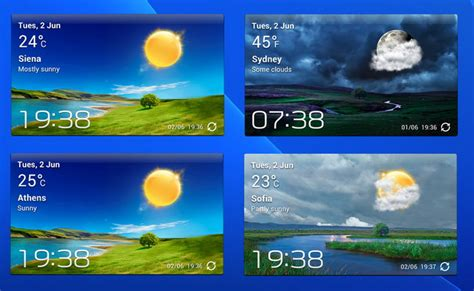 accuweather widget android accuweather s widget v3 xwidget for android