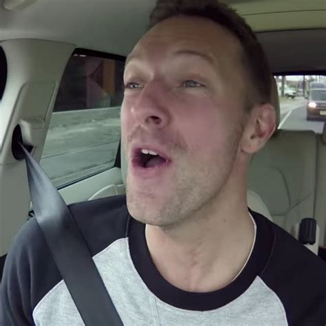 what does martin chris martin does carpool karaoke with corden gigwise