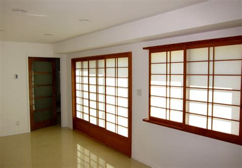 shoji screen window coverings japanese shoji asian windows and doors san francisco