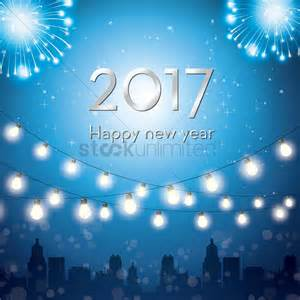 2017 happy new year greeting vector image 1940263 stockunlimited