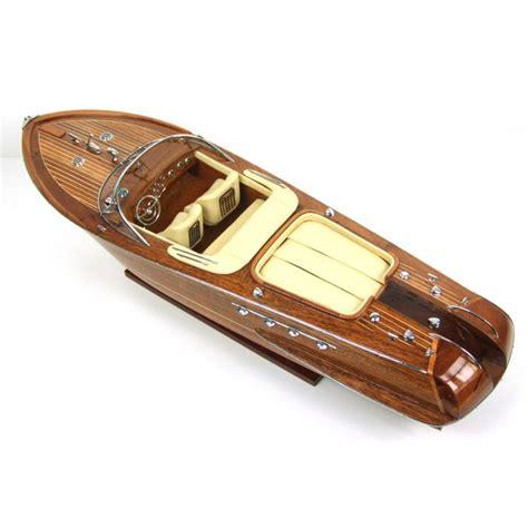 riva boats wood model boat wood riva aquarama 67cm model wood 2018