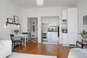 Small Kitchen Design For Apartments by Charming 26 Sqm Apartment In Sweden Offering The Best Of