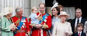 royal family prince george steals show at queen elizabeth ii s birthday celebration abc news