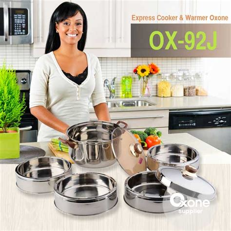 Ox 92 J Express Cooker And Warmer Oxone Kukusan Berkualitas panci oxone ox 92j panci stainless steel express cooker and warmer larismu