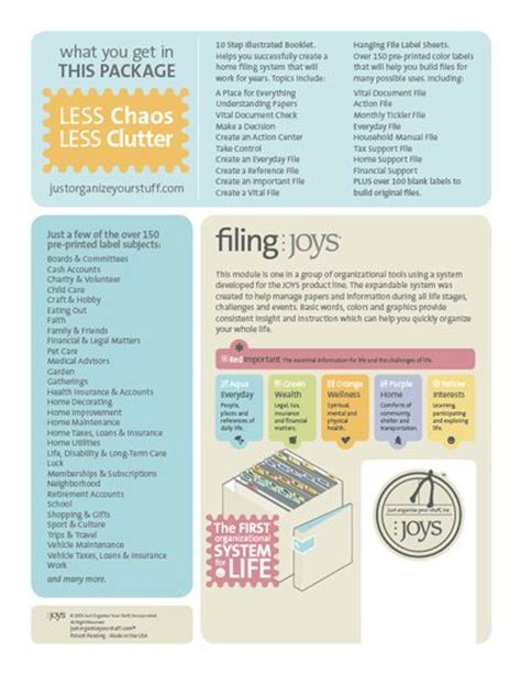organization filing system options images