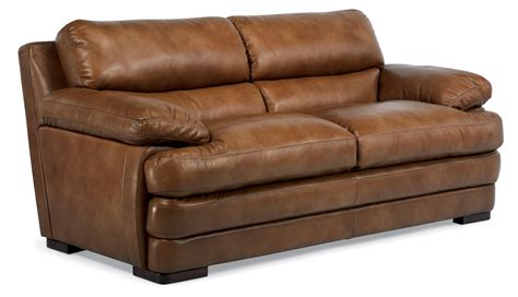 dylan power leather sofa flexsteel latitudes dylan leather two cushion sofa