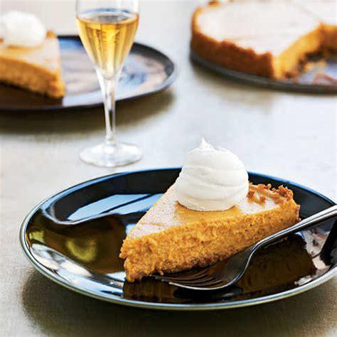 cooking light way to cook vegetarian vanilla bourbon pumpkin tart the way to cook light