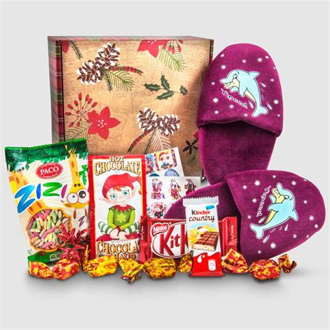night before christmas box santa s gift packageletters