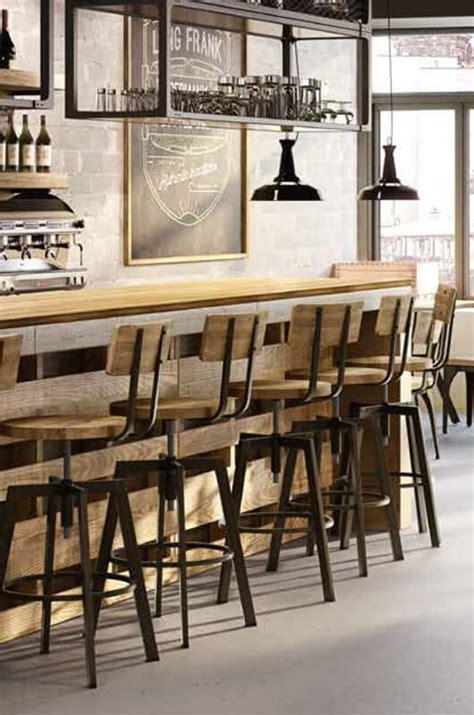 Amisco Architect Stool by Architect Stool W Wood Backrest Barstool Comforts