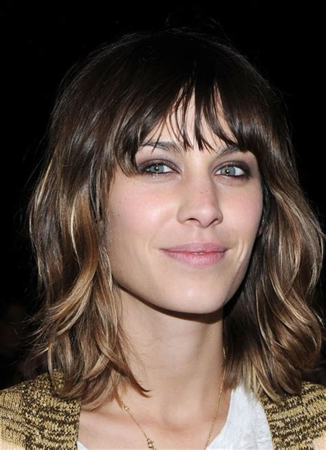 wavy lob with bangs 1000 images about bangs and wavy lob on pinterest vogue