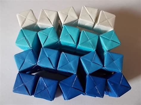Interactive Origami - interactive origami sculpture 45