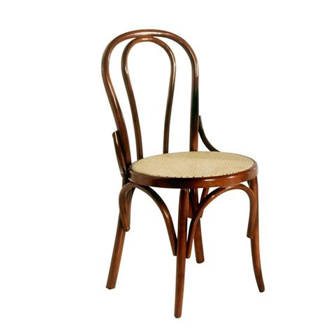 chaise bistrot lenin en bois h 234 tre noyer achat vente